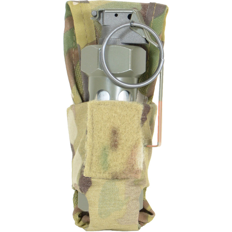 Flash Bang Pouch - Multicam - With Flash Bang
