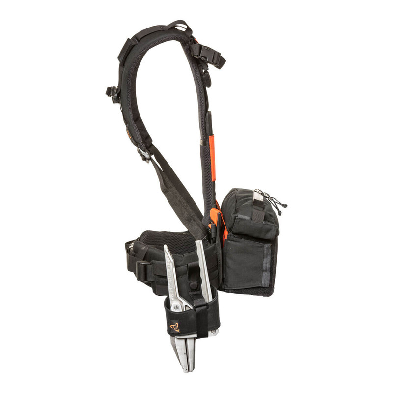Hose Clamp Holster - Black - On HOT SPOT