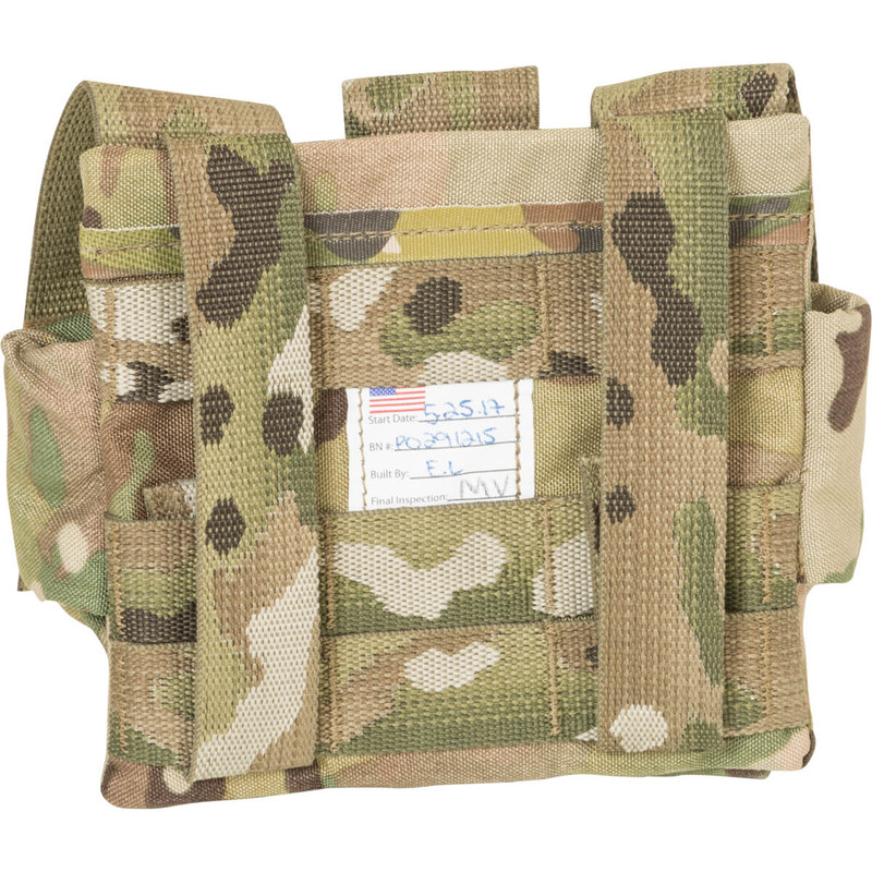 Triple Bang Pouch - Multicam - MOLLE Attachment
