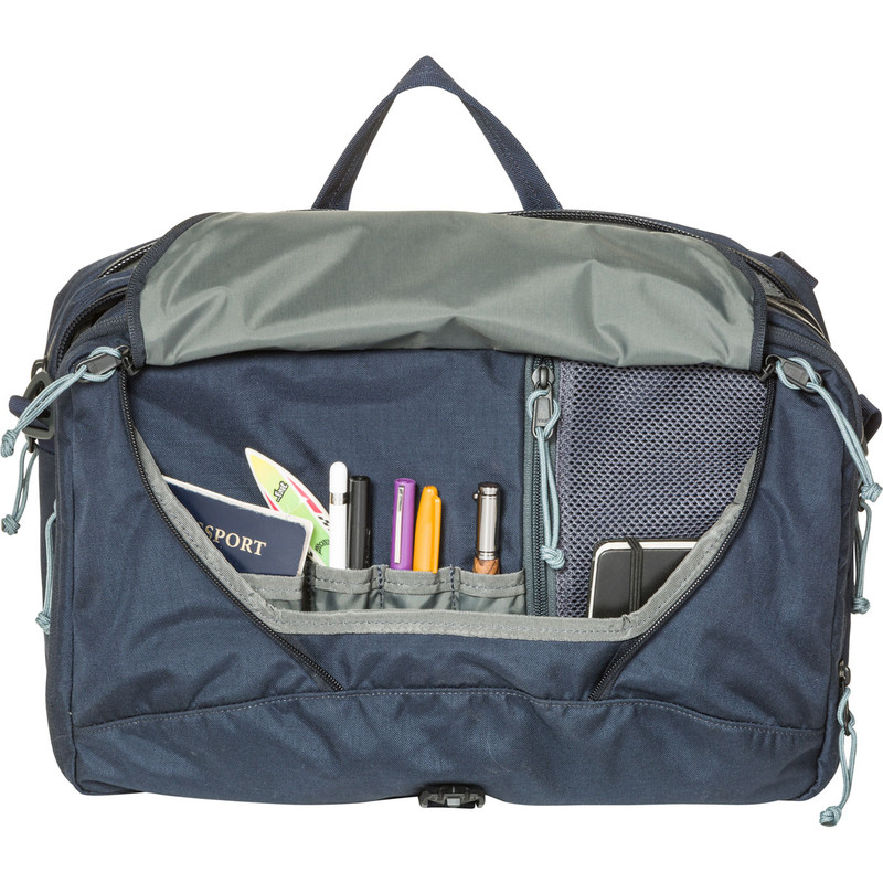 3 Way Briefcase Expandable - Galaxy (Front Open)