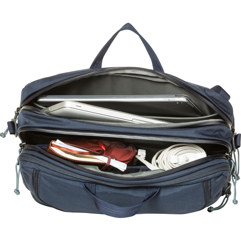 3 Way Briefcase Expandable - Galaxy (Top Open)