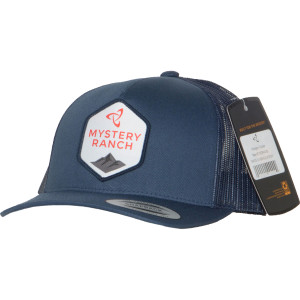 Hexagon Trucker Hat - Navy