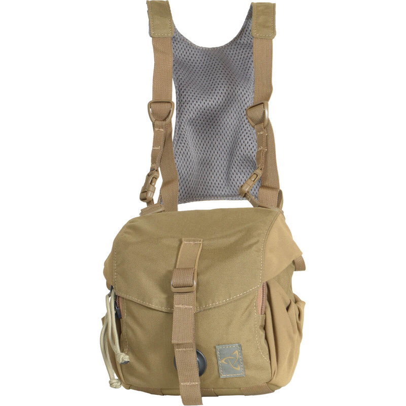 Quick Draw Bino Harness - Coyote