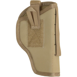 Quick Draw Side Arm Holster - Revolver - Coyote