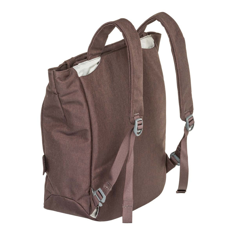 Ramble Tote - Coffee - Backpack Configuration