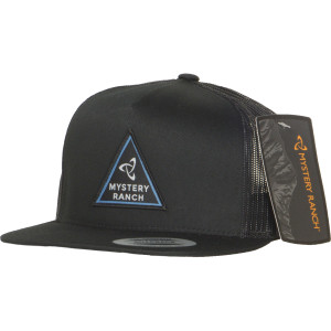 Triangle Trucker Hat - Black