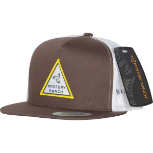Triangle Trucker Hat - Brown