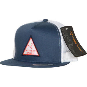 Triangle Trucker Hat - Navy