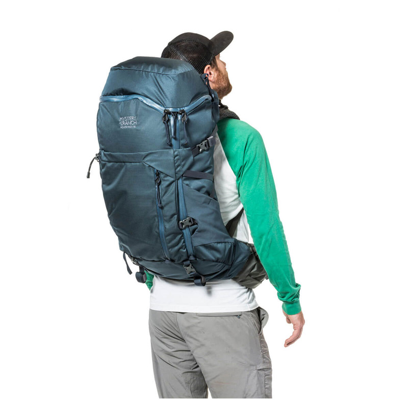 Women's Hover Pack 40 - Deep Sea (On Model)