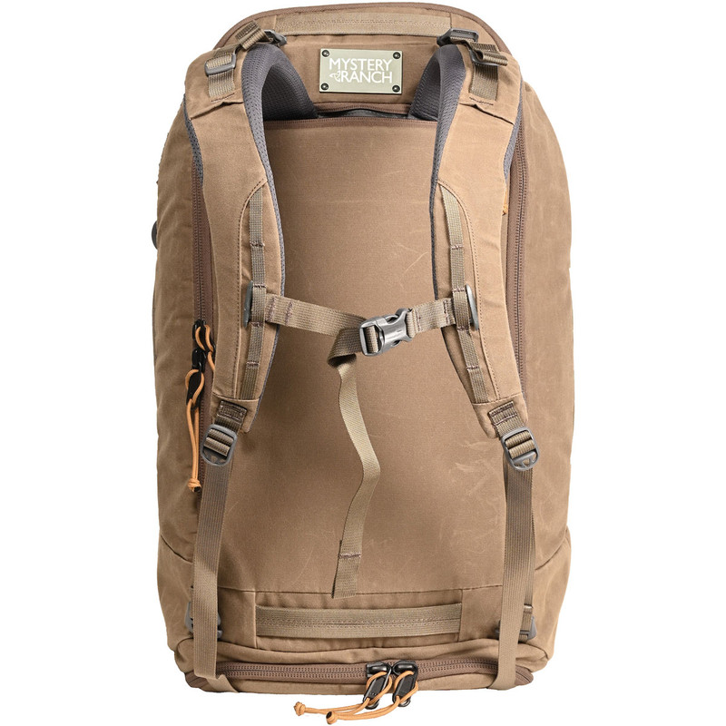 Mission Duffel - Wood Waxed (Backpack Straps)