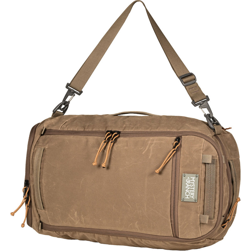 Mission Duffel - Wood Waxed (Shoulder Carry)