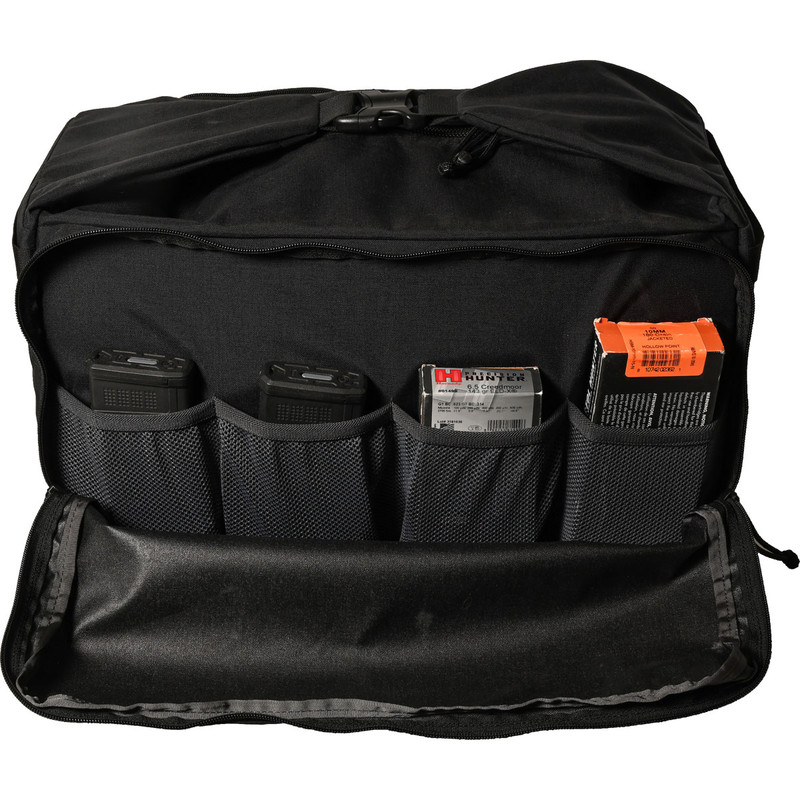 Range Bag - Black (Front, Open)