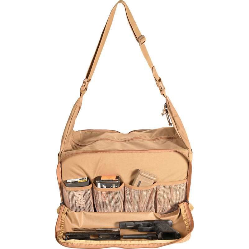 Range Bag - Coyote (Front, Open)