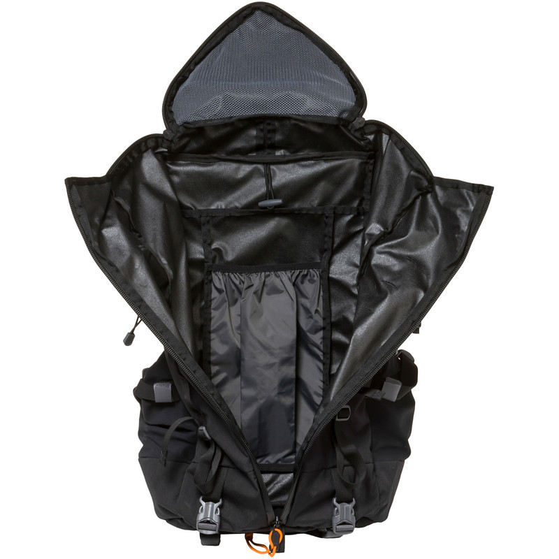 Terraframe 3-Zip 50 - Black (Open)