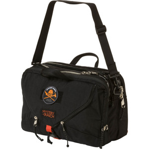3 Way Briefcase Expandable - Wildfire Black