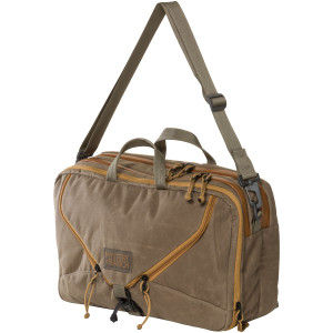 3 Way Briefcase Expandable - Wood Waxed
