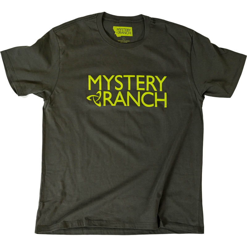 MYSTERY RANCH Logo Tee - Dark Olive
