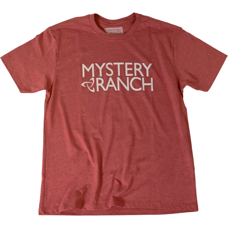 MYSTERY RANCH Logo Tee - Red Clay Heather