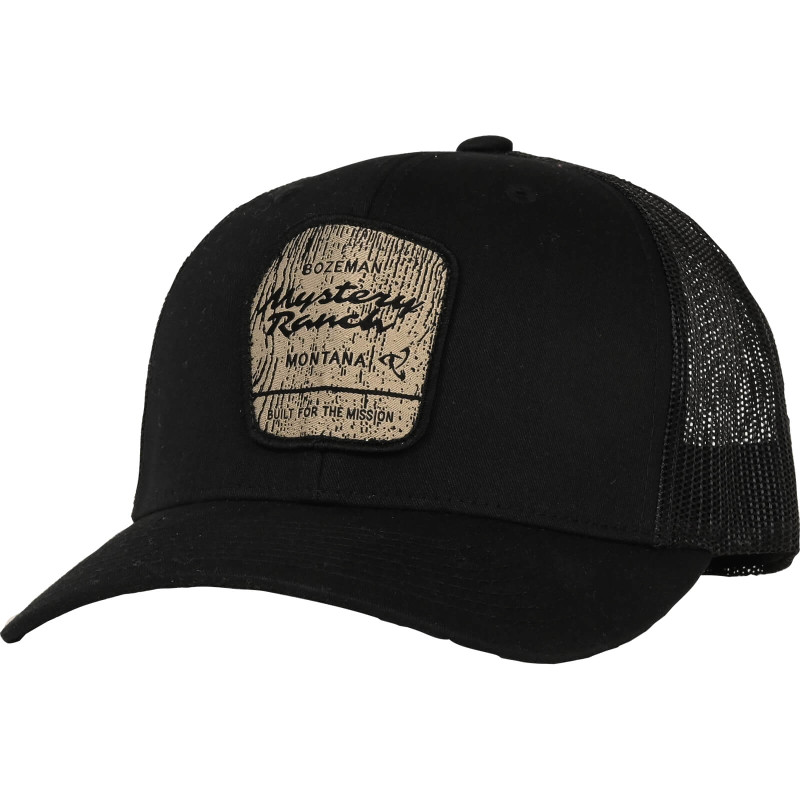 Wilderness Trucker Hat - Black