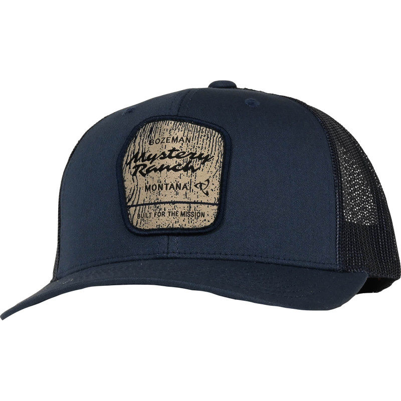 Wilderness Trucker Hat - Navy