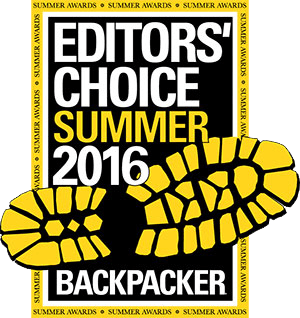 Backpacker Editor's Choice 2016