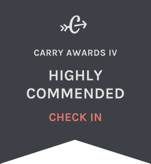 Carryology Carry Awards 4 - Best Check-In - Highly Commended