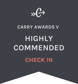 Carryology Carry Awards 5 - Best Check-In - Highly Commended